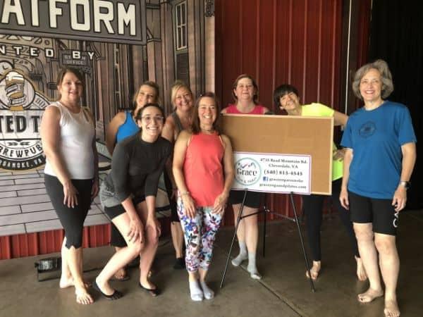 Team Grace Yoga And Pilates Roanoke Yoga studio